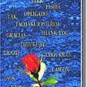 Das personalisierte Danke Buch in mehreren Sprachen