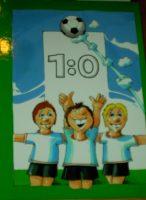 1:0 - Mein großes Fußball-Buch - personalisiertes Kinderbuch in verschiedenen Sprachen