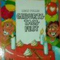 Mein tolles Geburtstagsfest - personalisiertes Kinderbuch in mehreren Sprachen